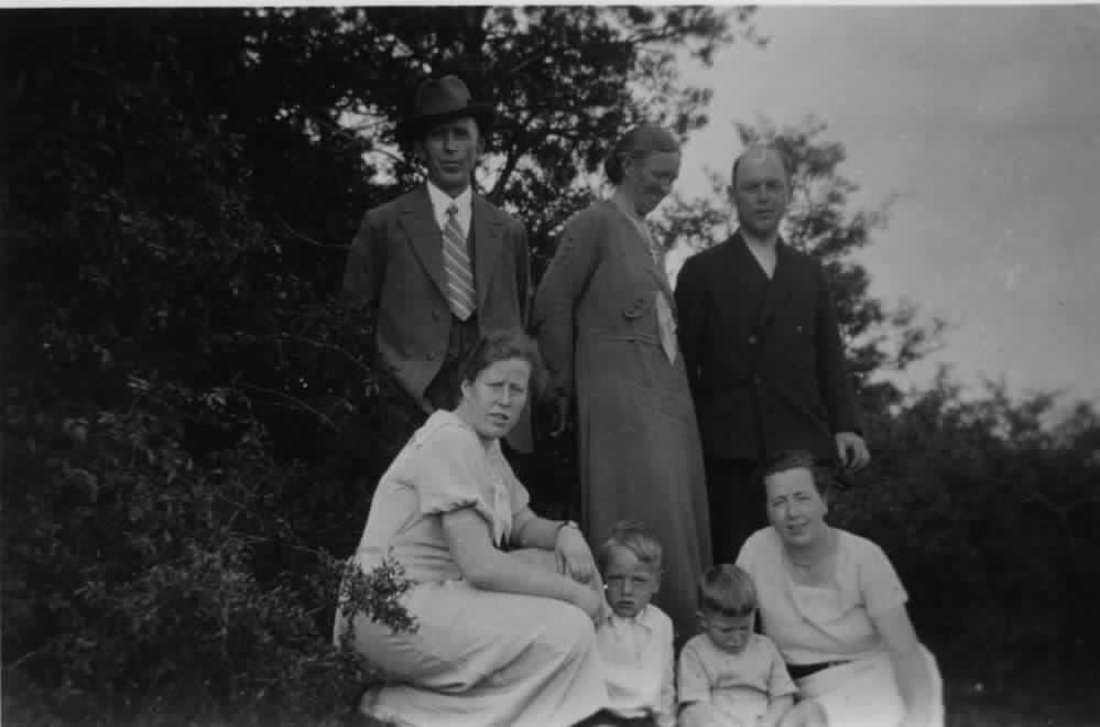 Familienausflug Familie Kornacker, ca. 1930