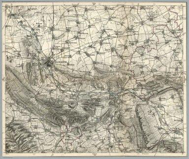 Kartenausschnitt Hildesheim